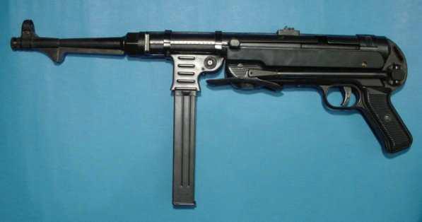 machine guns in ww2